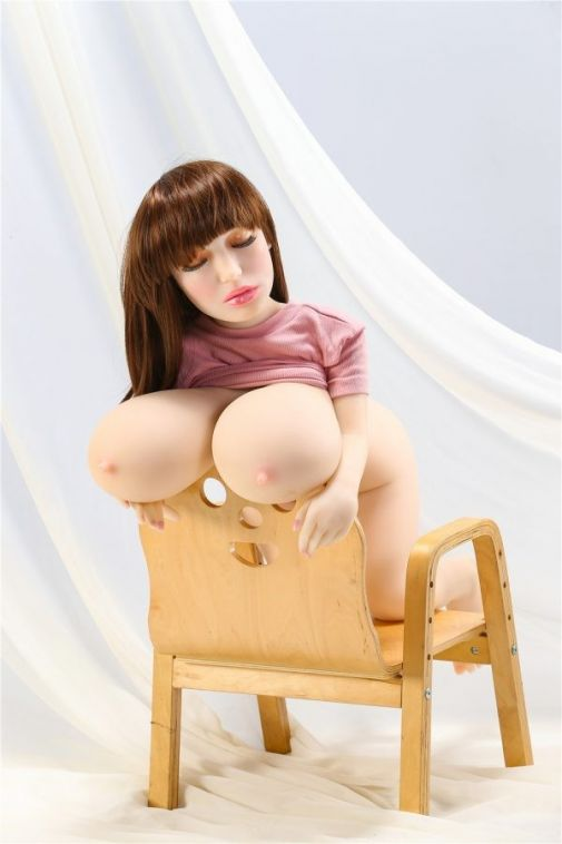 100cm Huge Breast Small Doll - Aurora