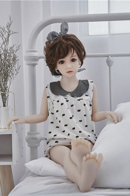 Lovely Petite Sex Doll with Flat Chests 105CM-Jojo
