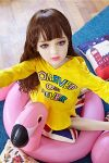 Pretty Small Love Doll with Flat Chests for Sale 107cm -Trina