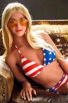 American Sex Doll Love Dolls for Men Blonde 158CM - Metty
