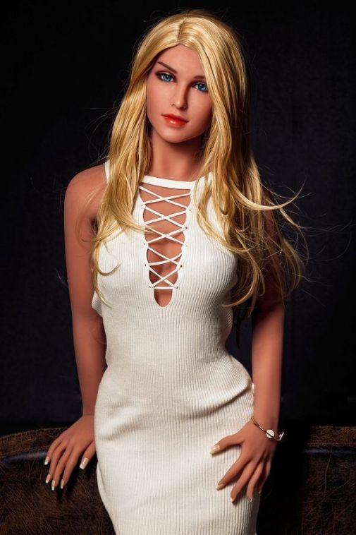 Most Lifelike Love Doll Elegant Blonde Sex Doll 158CM - Candy