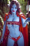 Blue Skin Elf Sex Doll 158CM - Colette