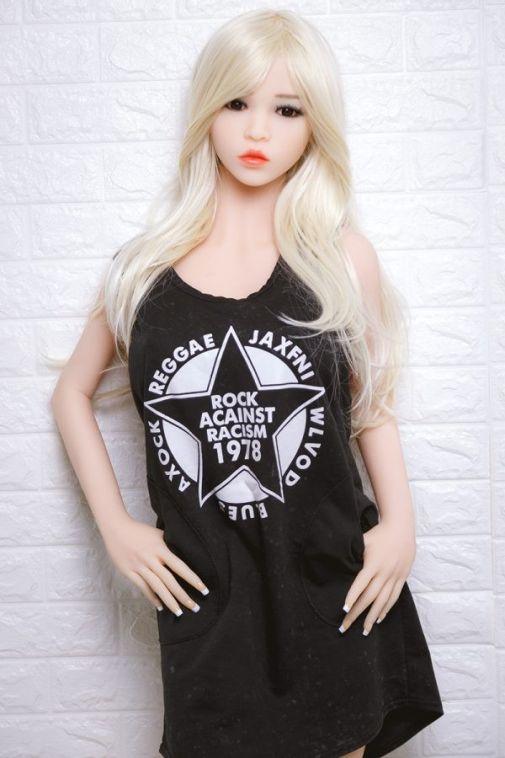 Blonde Hair Lifelike Sex Doll 158CM - Elina