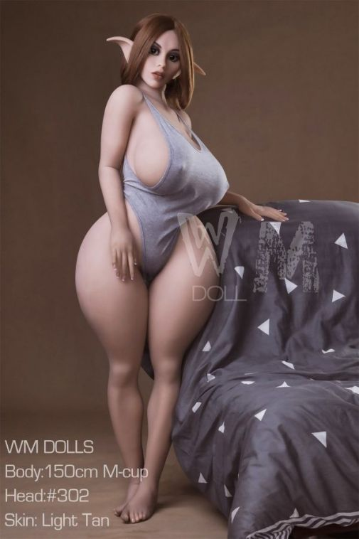 150cm Huge Breasts Thick Thighs Realistic Elf Sex Doll - Erica