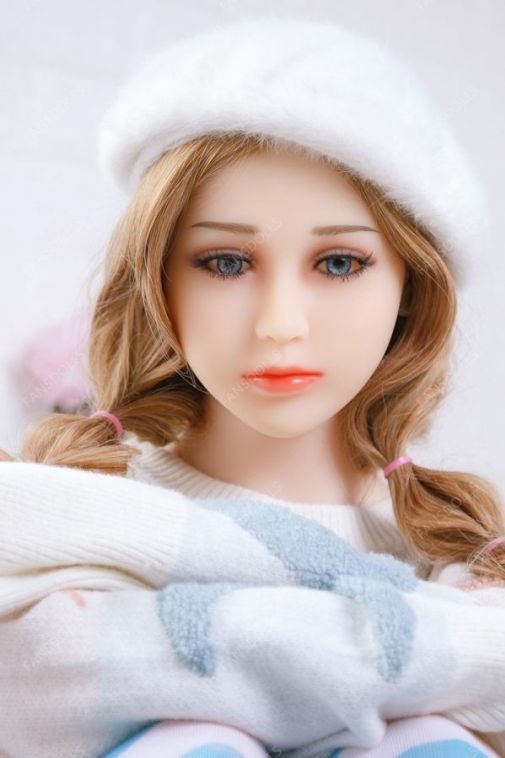 Lovely Blonde Young Sex Love Doll 158CM - Ady