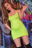 158m Milf Fat Belly Real Sex Doll Mature Love Doll - Marisol