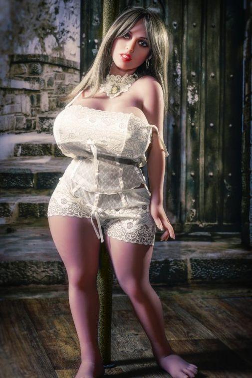 Mini Realistic Curvy Sex Doll Big Boobs Big Asses Adult Love Doll 108cm- Kaliyah