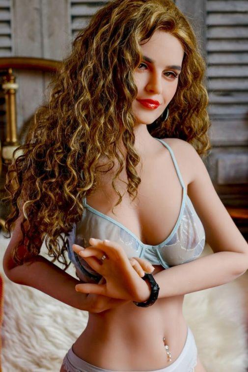2021 Best Blond Real Life Sex Doll for Men 168cm- Kaylee