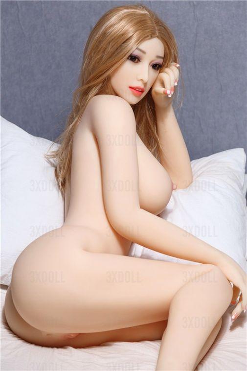Slim Built Sexy TPE Lifelike Sex Doll for Men158CM - Jean