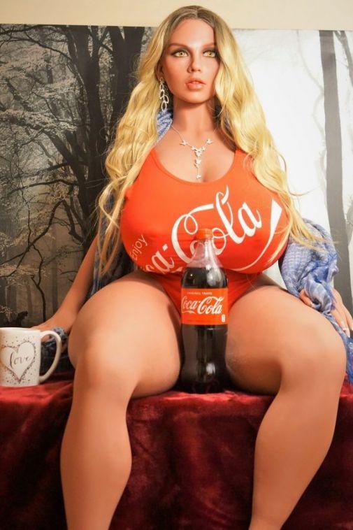 Super Hot Big Booty Fat Sex Doll 146cm - Blanche