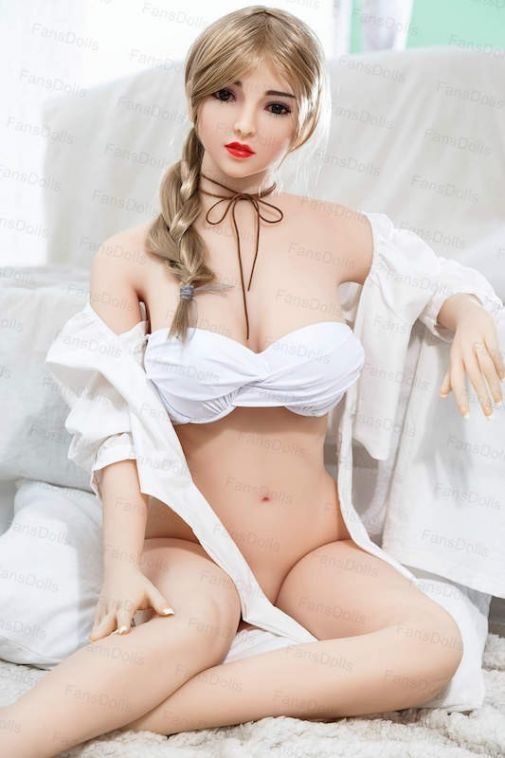 High End Skinny Body TPE Sex Doll Pretty Girl Love Doll 158CM- Hazel