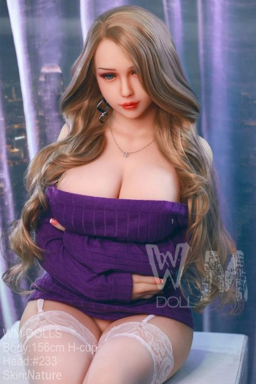 156cm Beautiful Busty and Thick Thighs Lifelike Sex Doll - Rayne
