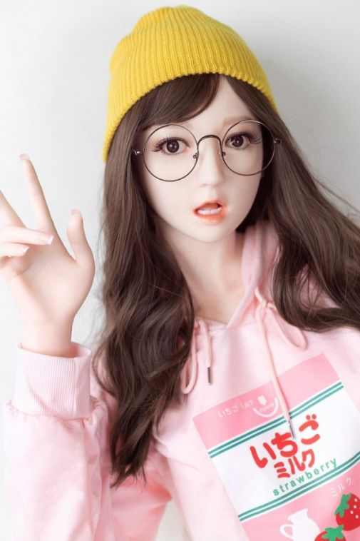Cheap Cute Young Slim Silicone Sex Doll 165cm - Casey