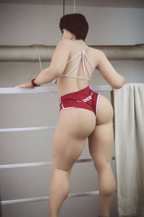 WM 156cm Muscular Big Ass Sex Doll - Galilea