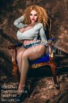 150cm Blonde Lifelike BBW Fat Sex Doll - Keilani
