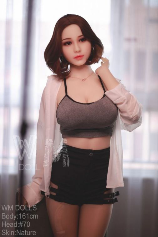 161cm Lovely Curvy Japanese Real Love Doll - Vada