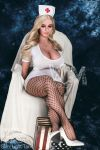 Blonde WM BBW Fat Real Love Doll 156CM - Loretta