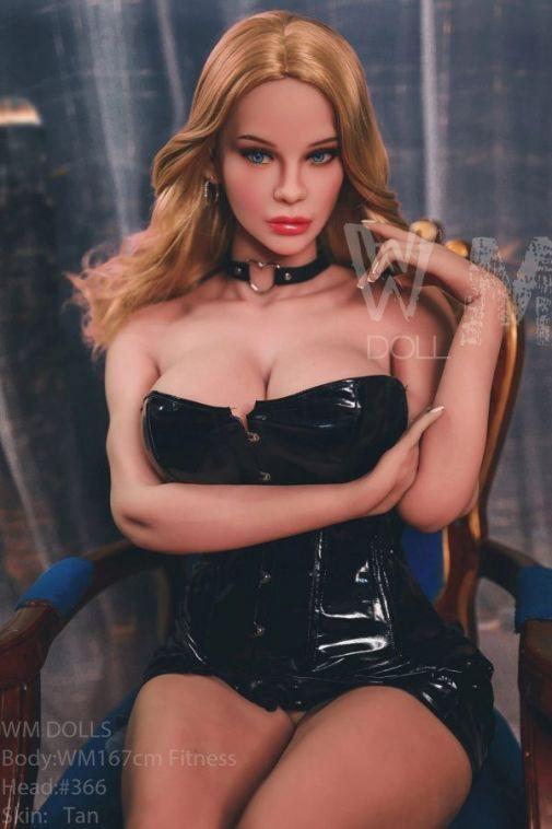 167cm Athletic Big Breasts Life Size Sex Doll - Amiya