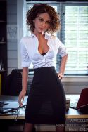 166cm Slim Office Lady Realistic Sex Doll - Calliope