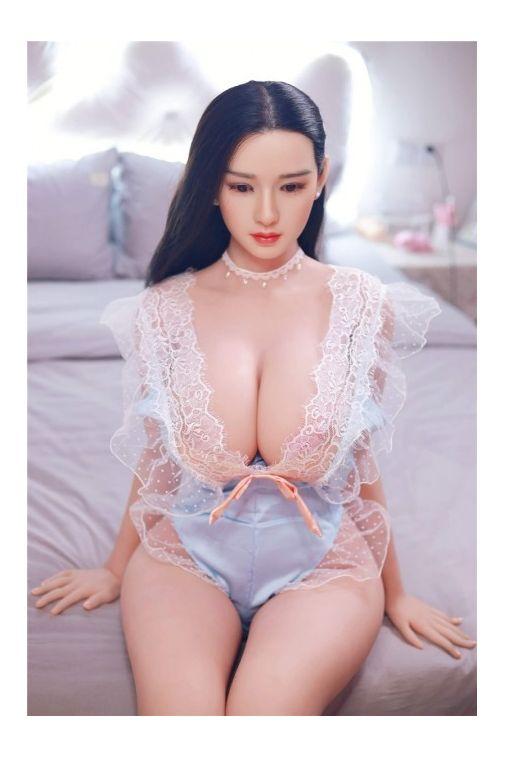 JY Big Tits Sex Doll with Silicone Head 164cm - Aleah