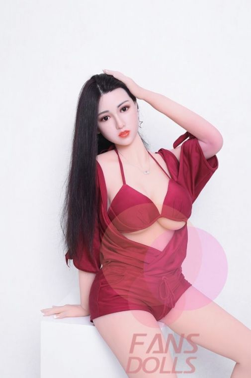 Chinese Real Sex Doll with Silicone Head 165CM - Qian Xue