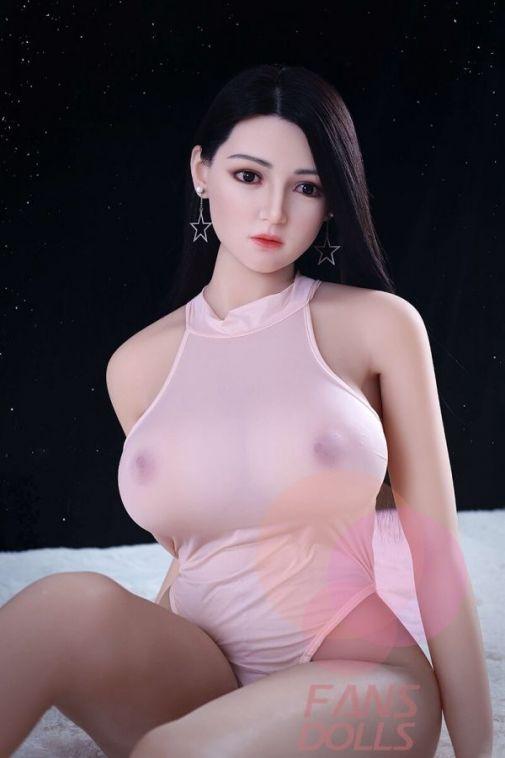 Big Boobs TPE Adult Sex Doll with Silicone Head 166CM - Indiya