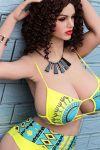 Big Busty Realistic Sex Doll Fat Big Ass Love Doll for Sale 158cm Jessa