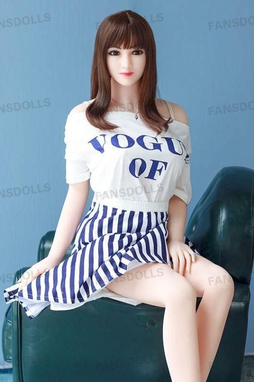 Enchanting Busty Asian Girl Sex Doll Full Size Love Doll for Male 158cm- Natasha