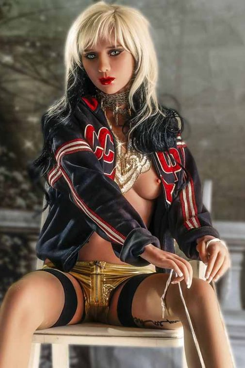 Wild Looking Realistic TPE Sex Doll Hottest Life Like Adult Doll 158cm - Pearl