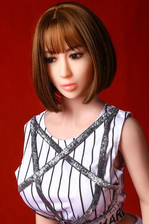Most Realistic Big Tits Sex Doll Sexiest  Asian Girl TPE Doll 158cm - Emelia