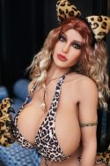 140cm BBW Love Doll Fat Sex Doll for Men- Logan