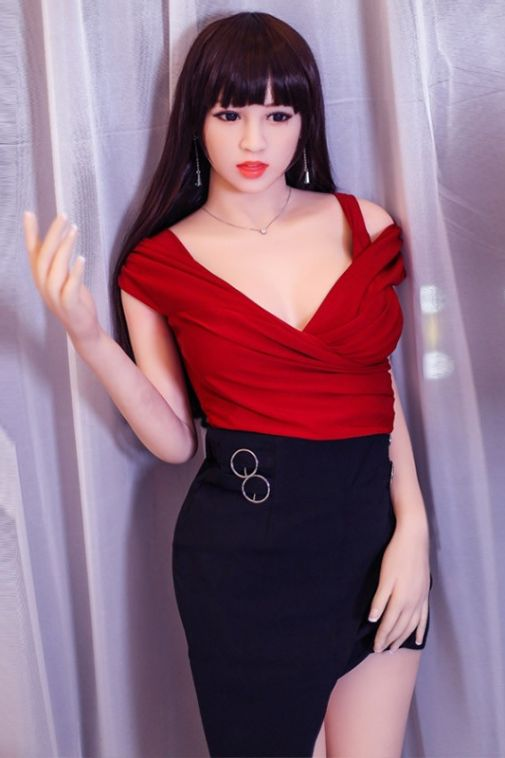 Luscious Busty Real TPE Life Size Doll Pretty Sexy Love Doll 165cm - Demi