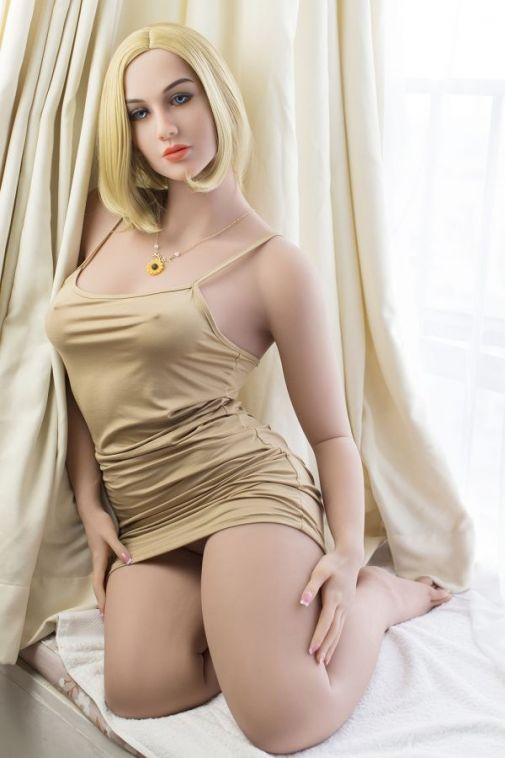 162cm Blonde MILF Adult TPE Love Doll -Alaya