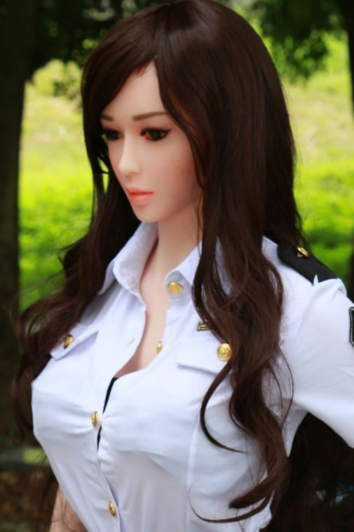 Super Real Officer Sex Doll Life Size Sexy Adult Love Doll for Men 165cm- Cathy