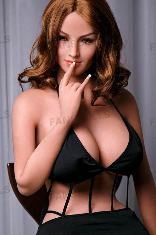 Seductive Big Boobs TPE High End Love Doll Blonde Sexy Adult Doll 165cm - Juniper