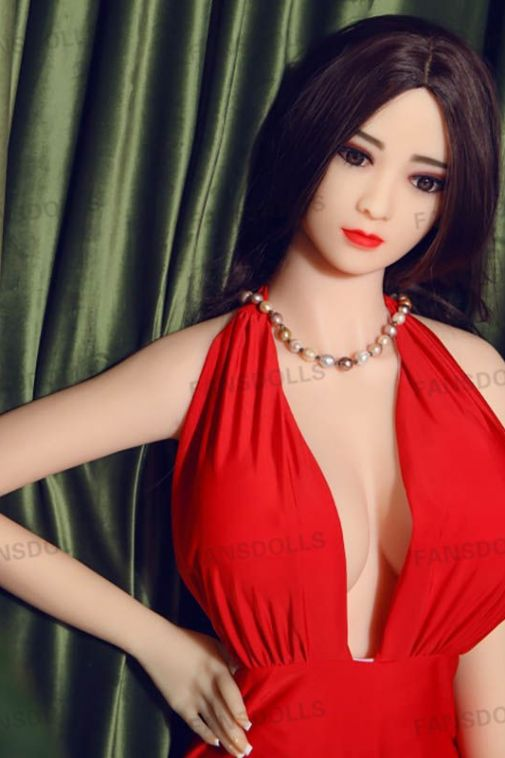 Pretty Sexiest Aisan Girl Sex Doll Super Real Busty Adult Doll For Sex 165cm - Vera
