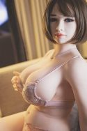 Buxom Blonde TPE Sexy Doll Chubby Life Size Love Doll 165cm - Aurora