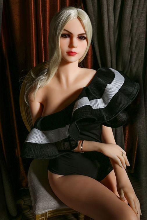 Slim C-cup Girl High Quality Sex Doll Super Realistic TPE Love Doll 165cm - Aubrey