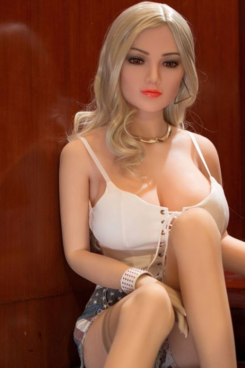 Slender Busty Full Size TPE Sex Doll Beautiful Female Love Dolls 165cm- Kathie