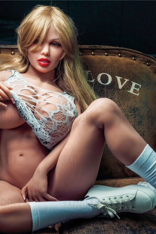 Muscled Huge Boobs Sex Doll Porn Sex Doll with Tight Thigh Love Doll 150CM - Gemma