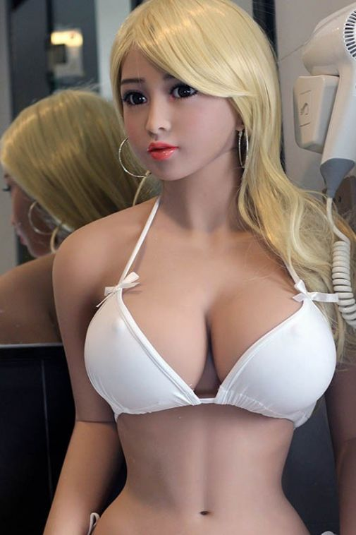 Busty Slim Life Size Adult Sex Doll Porn Sexy Premium TPE Love Doll 158cm - Whitney