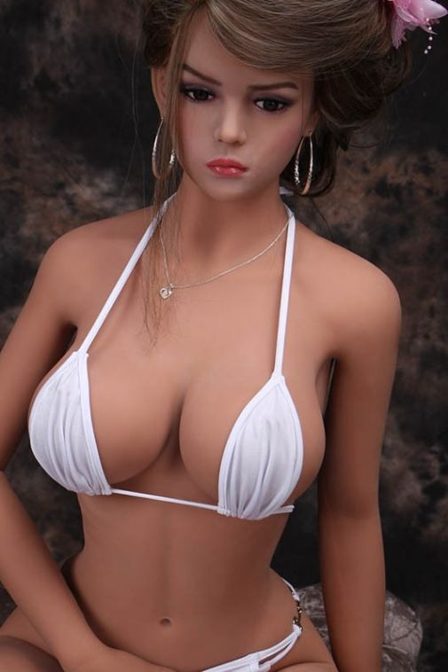 Big Breasts Japanese TPE Real Sex Doll Slim Love Doll for Sale 158cm - Kimberly