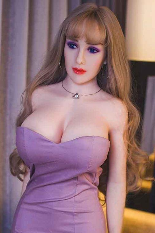 Busty  TPE Sex Dolls Blonde Big Breasts Love Doll 165cm - Gabriela