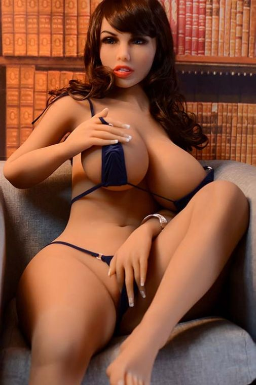 Adult Love Doll Big Tits BBW Realistic Sex Doll 158cm - Nina