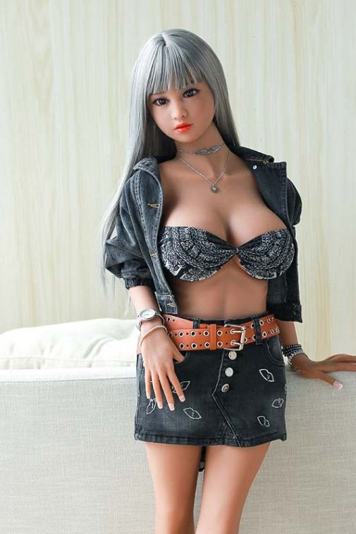 Busty Sexy Realistic TPE Sex Doll Curvy Porn Love Doll 138cm - Echo
