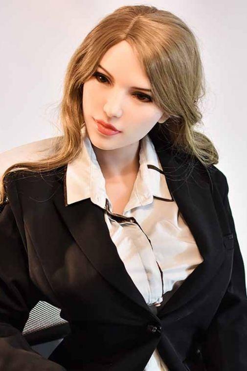 Secretary TPE Real Love Doll Canada Mature Girl Realistic Sex Doll 165cm Rachel