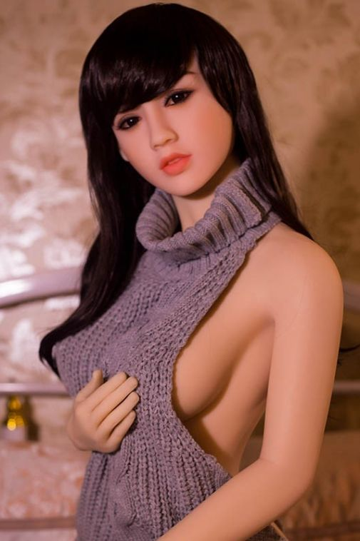 New Lifelike TPE Sex Dolls Asian Young Girl Love Doll for Men 158cm Isabella