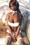 Tall Ebony Super Realistic TPE Sex Doll for Sale 170cm Letty