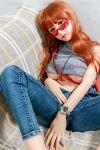 Innocent Korean Real Lifelike Looking Super Realistic Love Doll 165cm Allegra