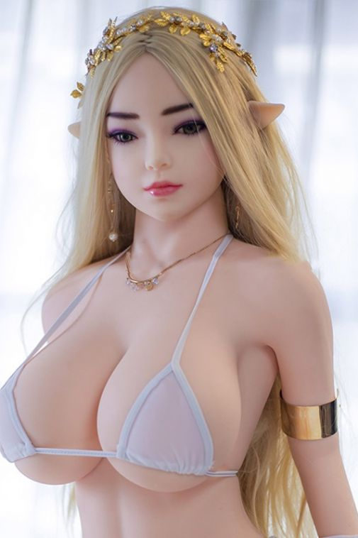Small Elf Life Size TPE Fantasy Sex Doll Fantasy Love Doll for Man138cm - Ariana
